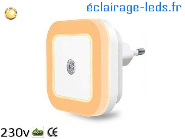 Veilleuse LED crépusculaire Dimmable
