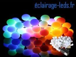 Guirlande lumineuse LED 10M multi-couleur