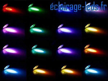 Ampoule LED MR16 Multi-couleur 12V DC