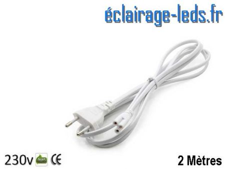 Câble d'alimentation Tube LED