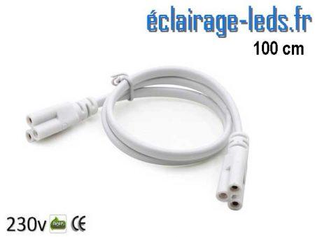 Câble de raccordement 1 mètre Tube LED T8 et T5