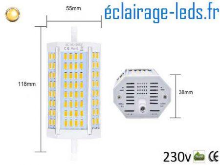 Ampoule led R7S 25w