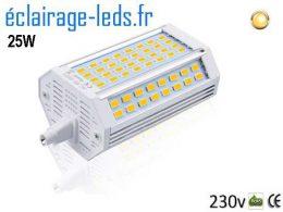 Ampoule led R7S Blanc Chaud 118mm 230v