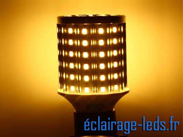 Ampoules LED E27 maïs Blanc chaud 230v