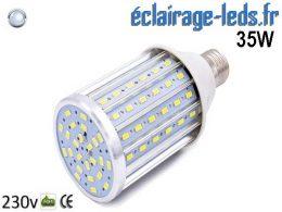 Ampoule LED E27 maïs 35W Blanc froid 230v