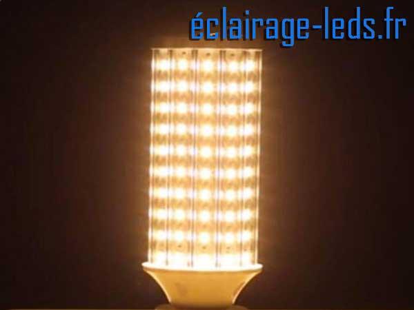 Ampoule LED E27 maïs chaud