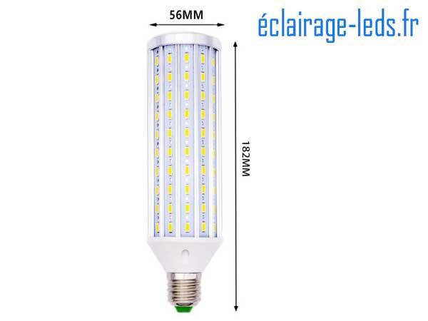 Ampoule LED E27 maïs 45W