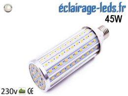 Ampoule LED E27 maïs 45W Blanc naturel 230v