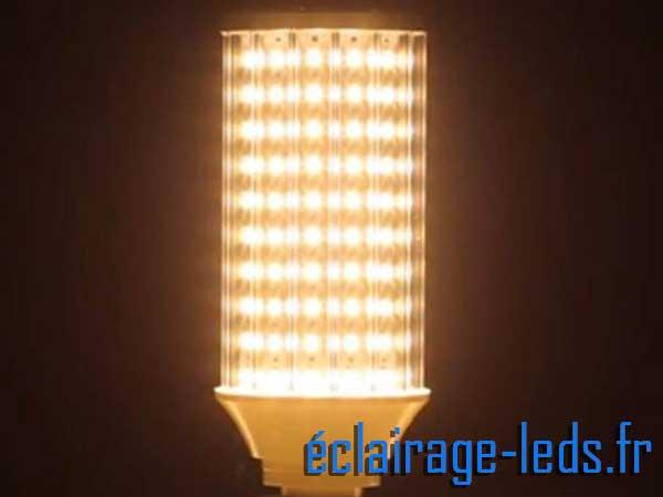 Ampoule LED E27 maïs blanc chaud