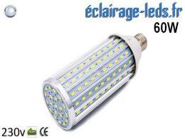 Ampoule LED E27 maïs 60W Blanc froid 230v