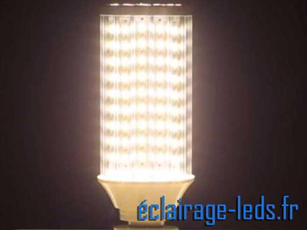 Ampoule LED E27 maïs banc naturel