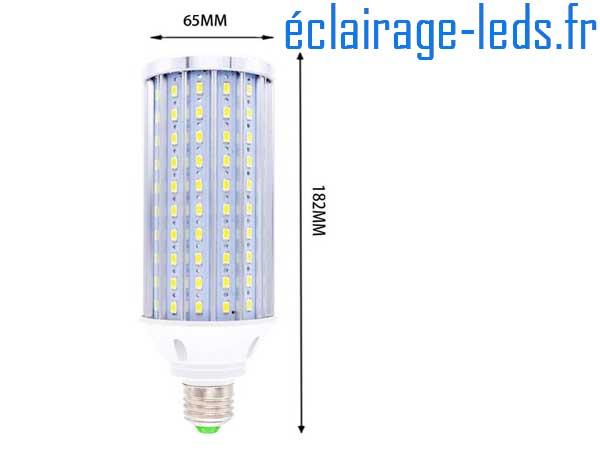 Ampoule LED E27 maïs 60W