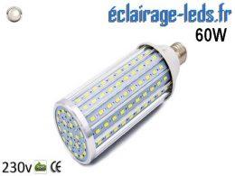 Ampoule LED E27 maïs 60W Blanc naturel 230v