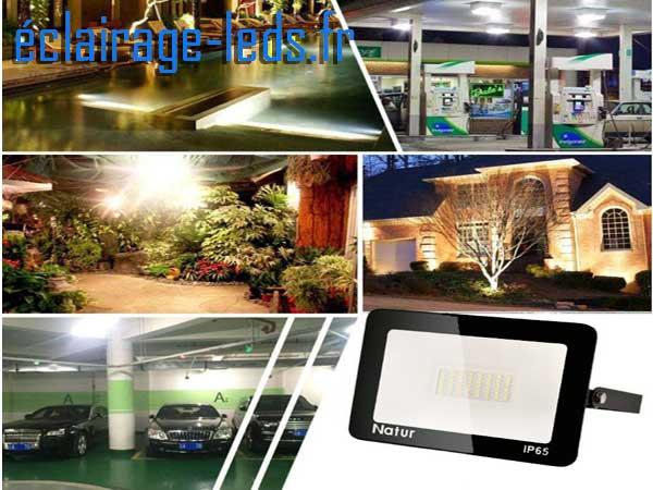 Projecteur LED extérieur 100W