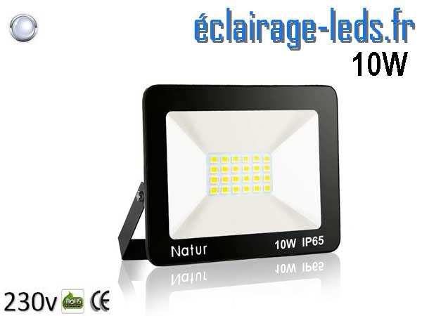 Projecteur LED extérieur 10w IP65 6000K 230v