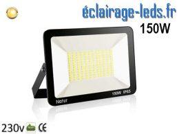 Projecteur LED extérieur 150w IP65 blanc chaud 230v