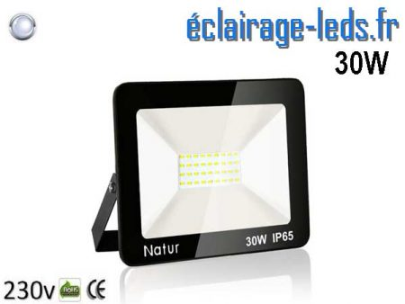 ojecteur LED extérieur 30w IP65 blanc froid 230v