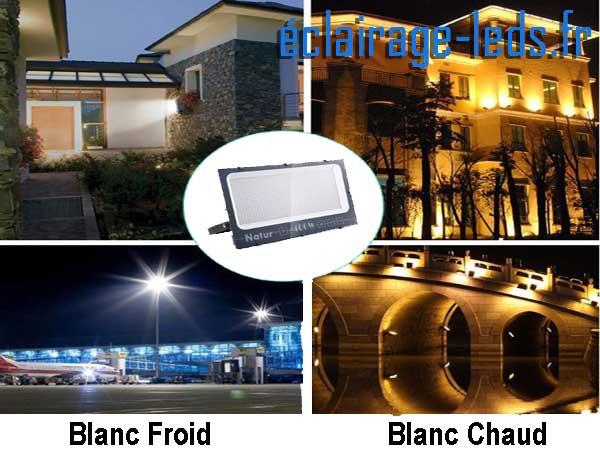 Projecteur LED 400W extérieur