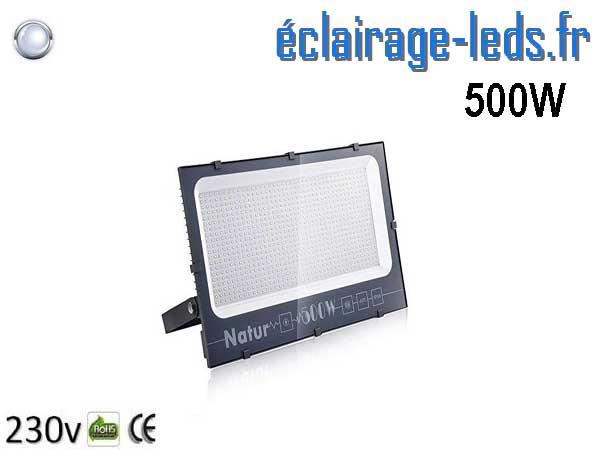 Projecteur LED extérieur 500w IP66 blanc froid 230v