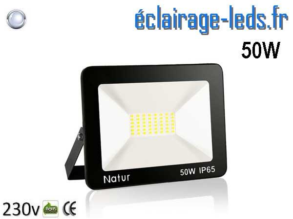 Projecteur LED extérieur 50w IP65 blanc froid 230v