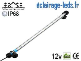 Tube LED 4W Submersible Blanc 38cm Aquarium 12V