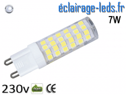 Ampoule LED G9 7w smd 2835 blanc froid 230v