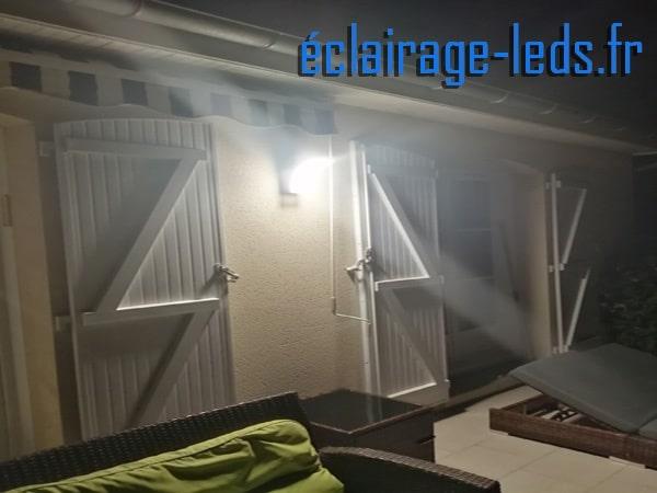 Applique mural LED extérieur IP44 blanc naturel 1500LM