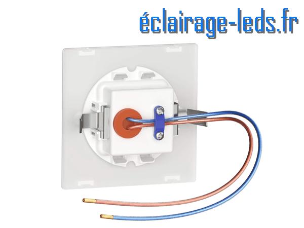 kit support LED Blanc Sol et Mur