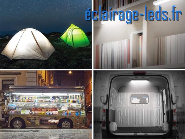 plafonniers led 4w spécial camping car & bateaux blanc froid