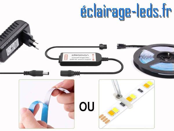 Bandeau LED dimmable 24M sécable 24v