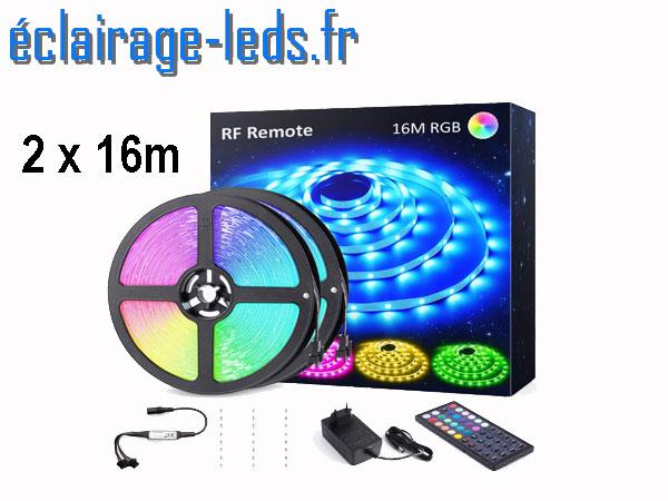 Bandeau LED RGB 32m (2x16m) IP20
