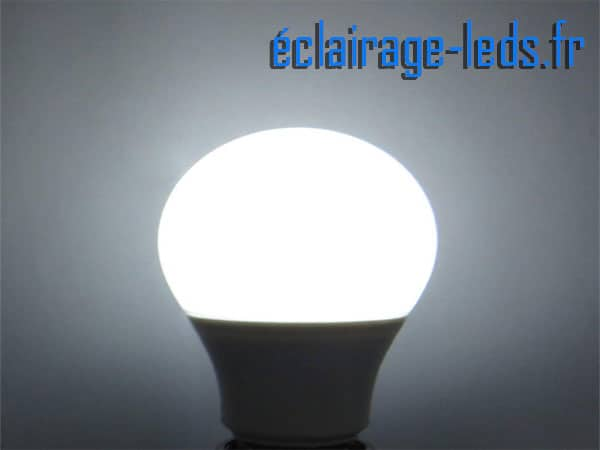 Lot de 3 ampoules LED E27 7W Blanc froid 12v
