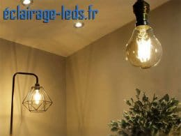 Ampoule led E27 11w COB Filament blanc chaud 2700K 230v AC