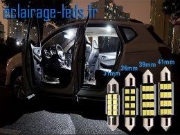 Ampoules LED C5W automobile intérieur blanc 12v, 31mm, 36mm, 39mm, 41mm