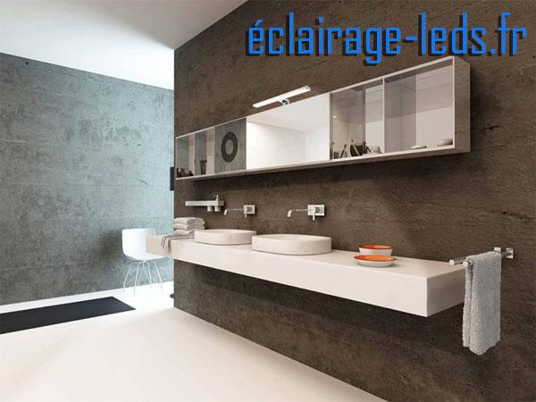 Lampe LED miroir Salle de bain 15W blanc naturel 230v