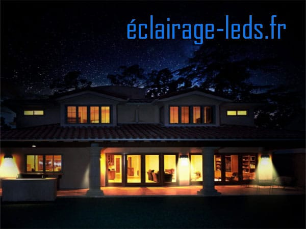 Applique led solaire gris 60 LEDs blanc chaud