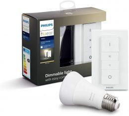 Ampoule LED E27 Philips HUE + Variateur d'éclairage 230v