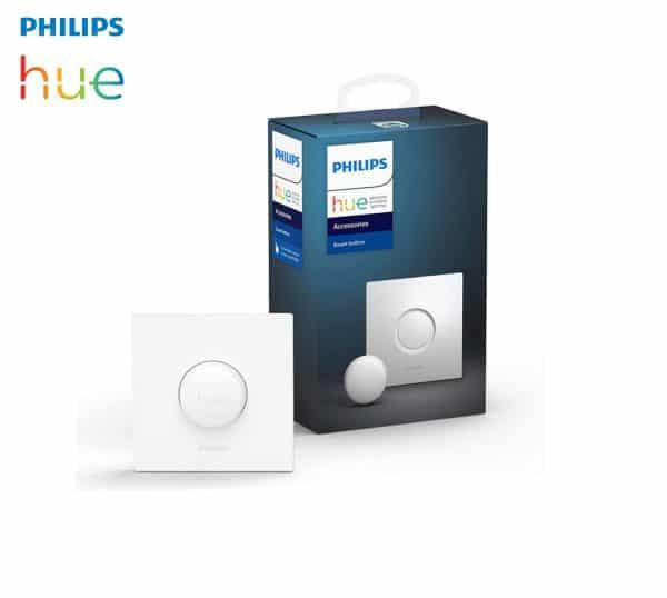 Bouton connecté Philips Hue variateur de lumière