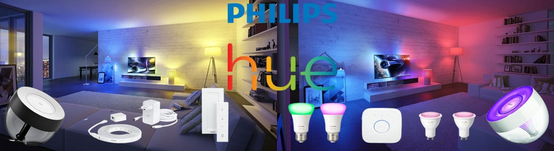 Philips Hue l'éclairage LED pour maison connectée