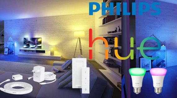 Éclairage connecté Philips Hue